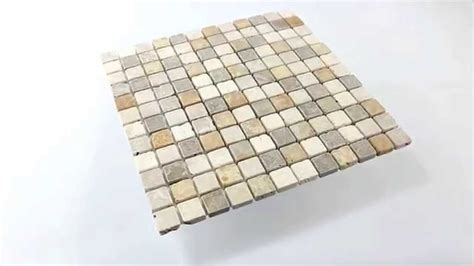 mosaik fliesen rot travertin naturstein mosaik fliesen braun beige rot
