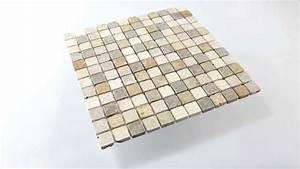 Mosaik Fliesen Beige : travertin naturstein mosaik fliesen braun beige rot youtube ~ Michelbontemps.com Haus und Dekorationen