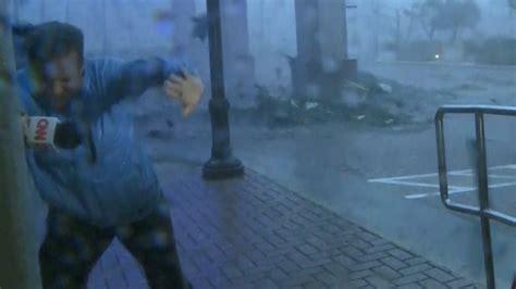 Trees, fences fall as Maria hits Puerto Rico - CNN Video