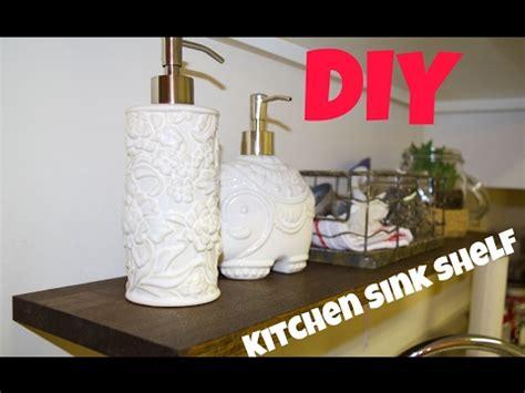 the sink kitchen shelf diy kitchen sink shelf easy terrarium 7264