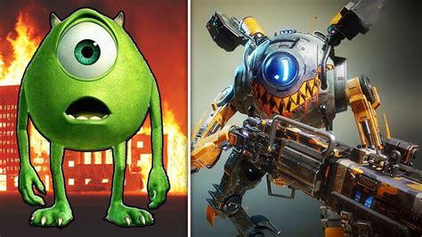 Cartoon Characters As Robots 2017