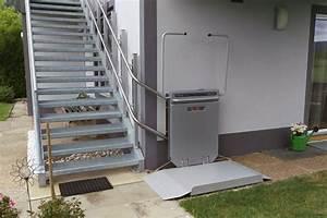 Treppen Im Außenbereich Vorschriften : rollstuhllifte mit plattform f r treppen im aussenbereich meico ~ Eleganceandgraceweddings.com Haus und Dekorationen