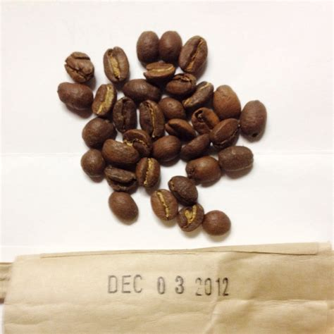 Oily beans come from a chemical reaction between the internals of the beans and oxygen. Aren't all freshly roasted beans oily? : Coffee