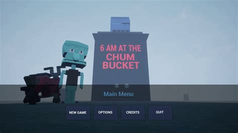 Fast food restaurant in amsterdam, new york. 6 AM at The Chum Bucket Music Main Menu Song - YouTube