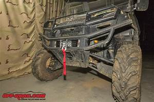 How To Utv Winch Installation  Off