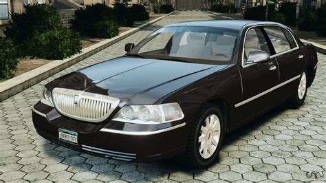 Town Car by Lincoln Town Car 2006 V1 0 For Gta 4