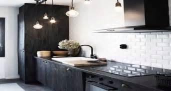 Cuisine Carrelage Metro Noir by Carrelage M 233 Tro Le Style D 233 Co Chic D Un Carrelage De Cuisine