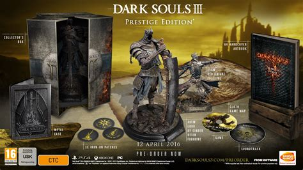 dark souls  prestige edition sold   uk apocalypse