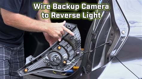 camera wiring   wire   reverse light