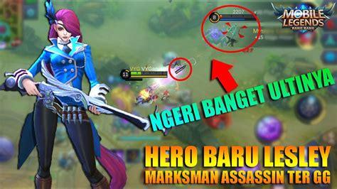 Hero Baru Sniper Lesley Ultinya Sadis Banget Anjay