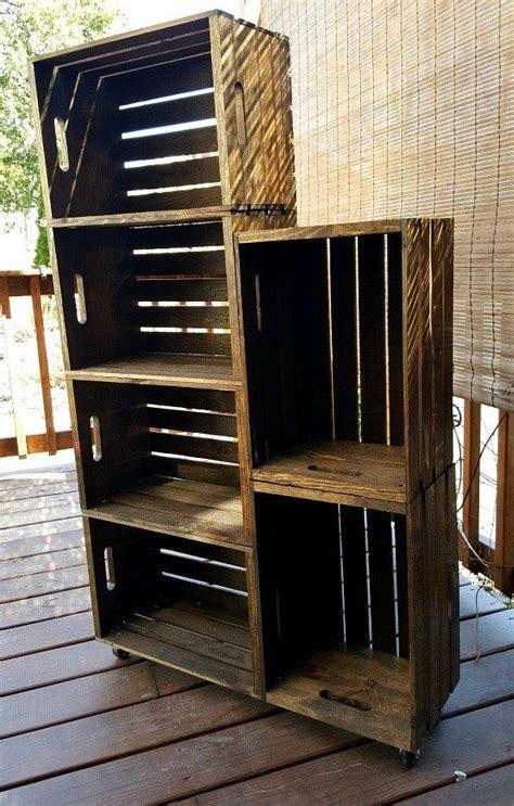 diy wooden crate shoe rack outdoor woodworking plans