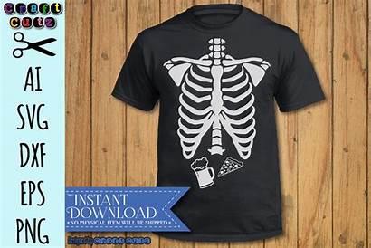 Svg Rib Skeleton Cage Dad Xray Cut