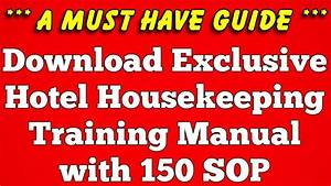 Download Hotel Housekeeping Training Manual