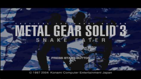 Snake Eater (europe, Australia) (en