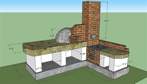 outdoor kitchen plans  howtospecialist