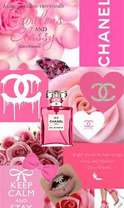 chanel, pink, and Collage image | Chanel wallpapers ...