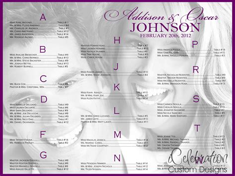 wedding seating chart poster template seating chart poster template portablegasgrillweber