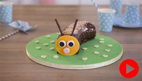 chocolate caterpillar cake recipe easy baking betty