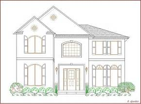 How to Draw a Large House
