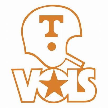 Vols Tennessee Vector Volunteers Logos Football Silhouette