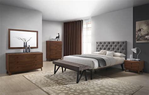 modrest gibson modern grey fabric super king    bed