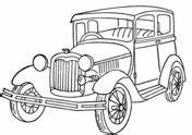 1949 ford car coloring page free printable coloring pages With 1955 ford car parts