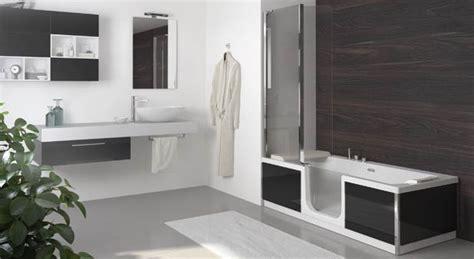 baignoire combinee avec porte duo de kinedo une baignoire pour toute la famille