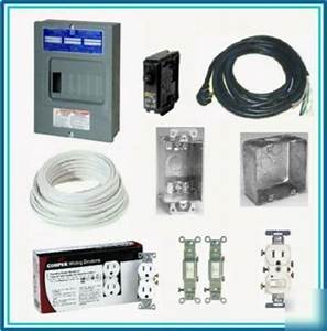 Concession Trailer 110v Electrical Package
