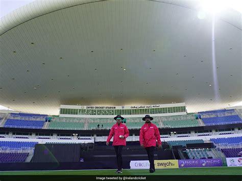 Coronavirus: Third UAE vs Ireland ODI Postponed After One ...