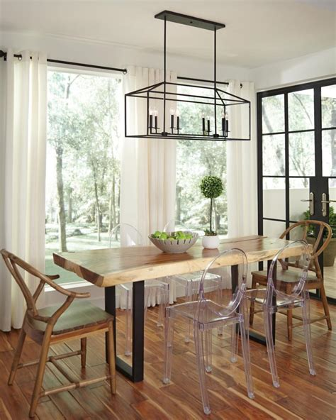 linear chandelier dining room current obsession lantern chandeliers white
