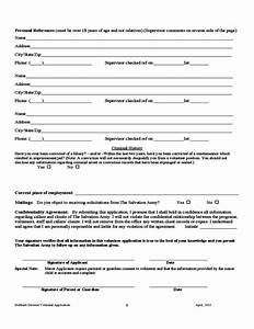 volunteer registration form template hocanediofco With l application documents