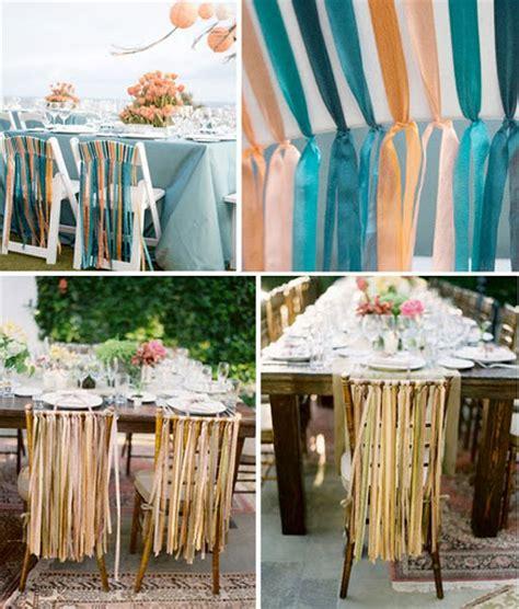 decoration de mariage avec du ruban mariageoriginal