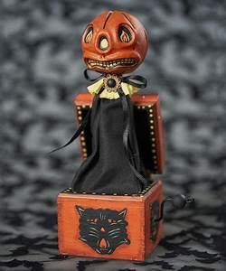 Spook, Up, Your, D, U00e9cor, With, This, Adorably, Festive, Figurine, Sitting, On, The, Mantel, Or, In, The