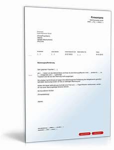 übergabe Einer Mietwohnung : r umungsaufforderung muster vorlage zum download ~ Lizthompson.info Haus und Dekorationen