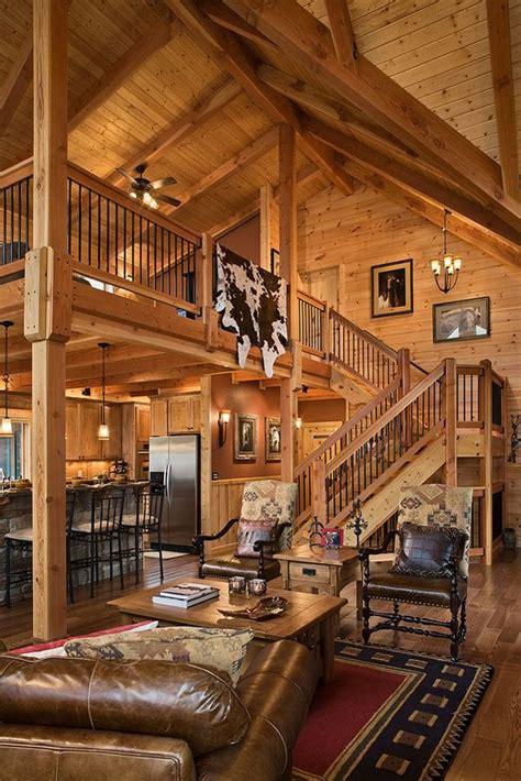 log home stairs rails log homes  america rustic pinterest minnesota logs