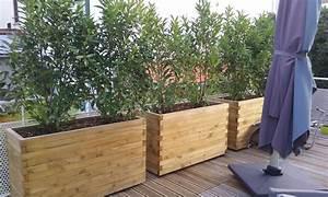 bacs a fleurs bois homeezy With superb plan de maison 150m2 15 plan maison bois etoile