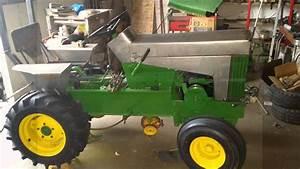 John Deere 112 Garden Tractor Restore