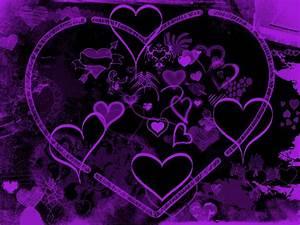 Purple Hearts Backgrounds - Wallpaper Cave