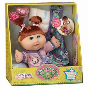 Cabbage Patch Kids Babies with Soft Carrier - Brunette