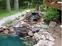 backyard water fountains Relax with a Backyard Water Feature