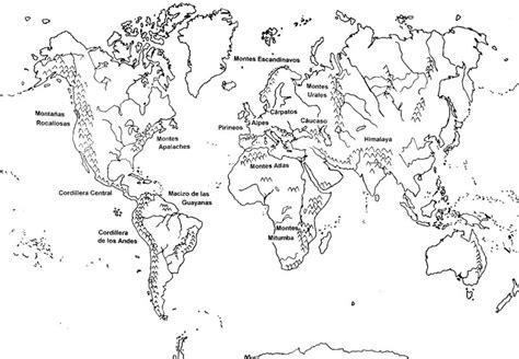 Mapa Mundi Blanco YPictures to Pin on Pinterest