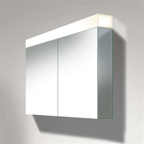 duravit vero mm  door mirror cabinet  led