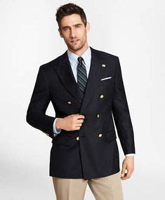 austin reed mens clothing regular fit navy gold button