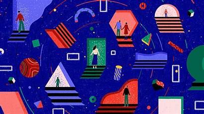 Yukai Du Yourself Tell Motion Illustration Illustrations