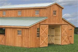 amish built wooden barns indiana home design idea With amish built horse barns