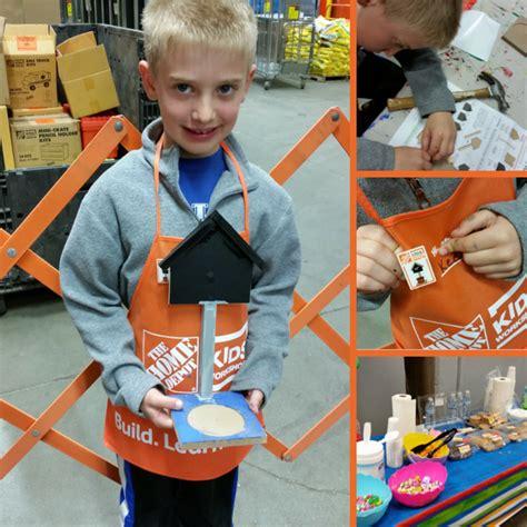 Free Home Depot Kids Workshops • Lexfun4kids