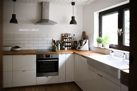 küchen ikea bilder ikea k 252 che wei 223 holz