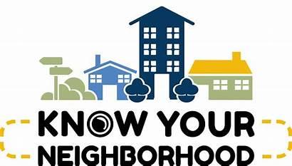 Neighborhood Know Iowa Club Graphic Community Civic