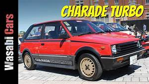 Red-hot Hatch  1984 Daihatsu Charade Turbo Detomaso