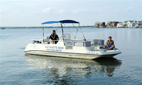 Boat Rent Nj by Pontoon Boat Rental In Margate City New Jersey United